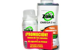 Promoción Ener Zona Omega 3 RX