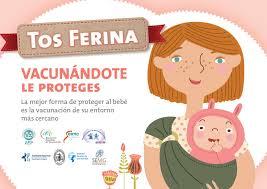 Campaña Vacunación Tos ferina en embarazadas