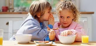 Desayuno saludable con polvo de algarroba