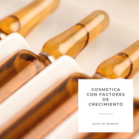 COSMETICA CON FACTORES DE CRECIMIENTO