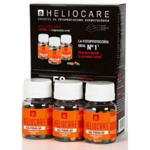 Heliocare Ultra-D Pack Trio 3x30 cápsulas