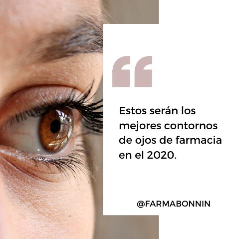 Estos serán los mejores contornos de ojos de farmacia en el 2020.
