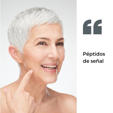 Peptidos y Vitamina C pura un duo perfecto para tu piel.