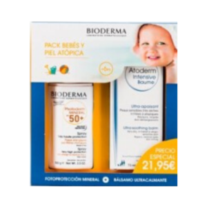 Bioderma Photoderm Mineral SPF 50+ 50 ml + Atoderm Intensive Baume 75 ml