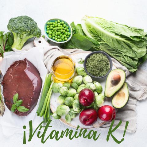 ¿Debo tomar Vitamina K en Menopausia?